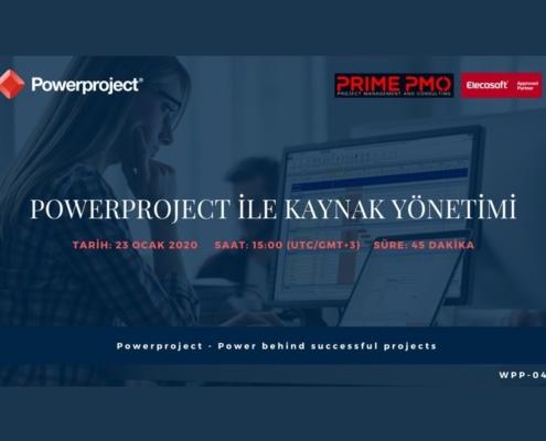 Powerproject ile Kaynak Yönetimi