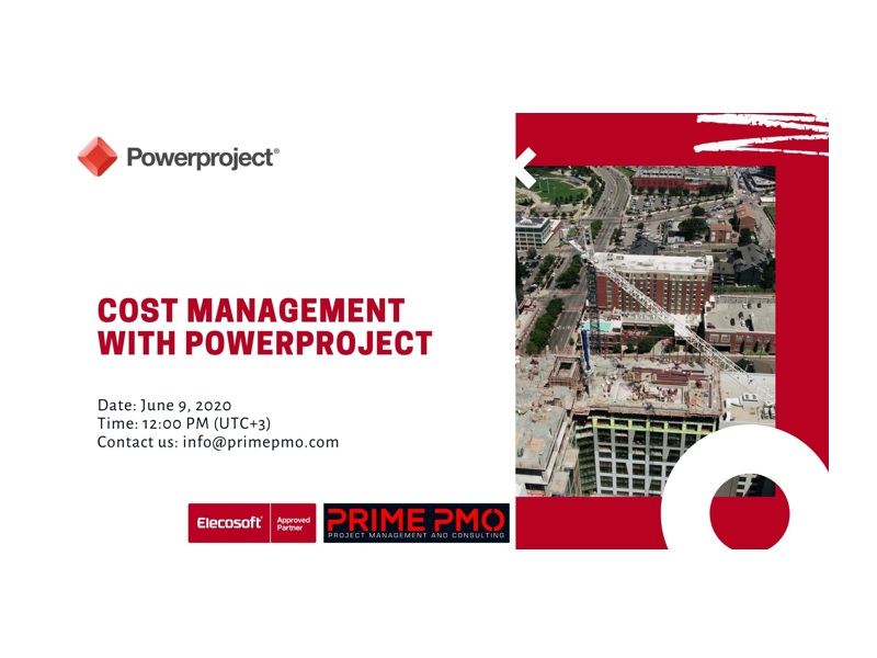 Cost Management with Powerproject
