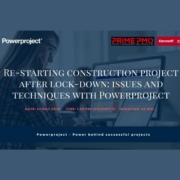 Re-starting Construction Project after Lock-Down - Issues & Techniques with Powerproject