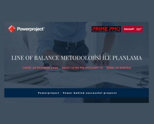 Line of Balance Metodolojisi ile Planlama