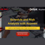 Schedule and Risk Analysis with Acumen