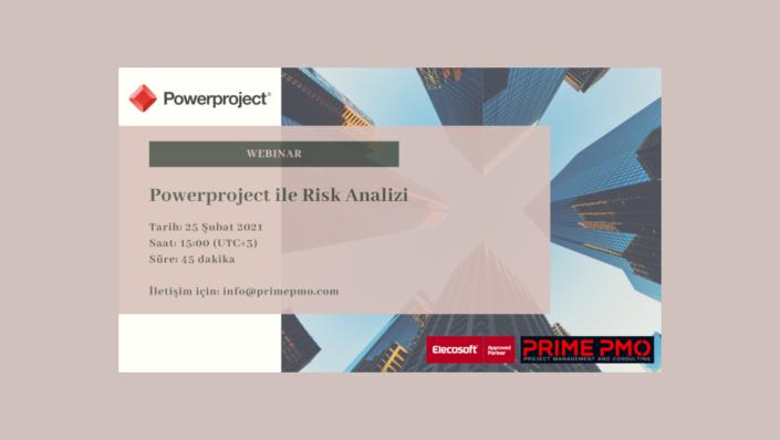 Powerproject ile Risk analizi